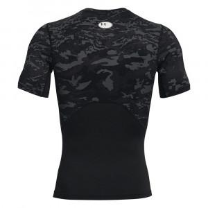UA HeatGearTM Compression Shirt ''Black Camo''