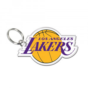 NBA Premium Logo Los Angeles Lakers Keyring