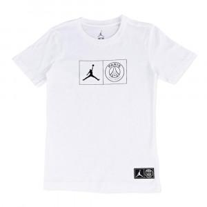 Air Jordan x PSG T-Shirt ''White''