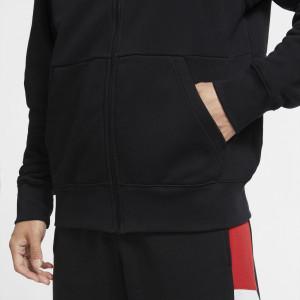 Air Jordan Jumpman Fleece Full-Zip Hoodie ''Black''