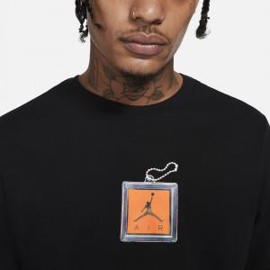Air Jordan Keychain T-Shirt ''Black''