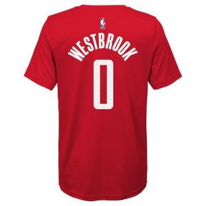 Nike Houston Rockets Russel Westbrook T-Shirt ''University Red''