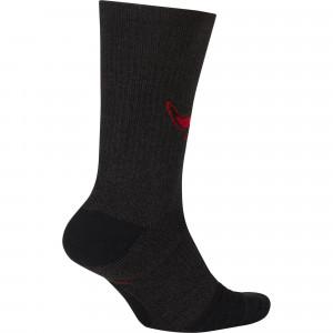 Nike NBA Chicago Bulls Elite Crew Socks ''Black''