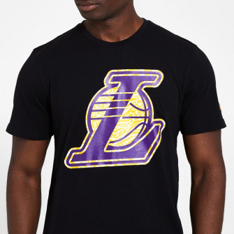 New Era Infill Logo Los Angeles Lakers T-Shirt ''Black''