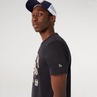 New Era Retro Graphic T-Shirt ''Navy''