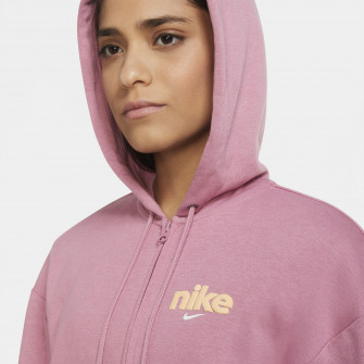 Nike Sportswear Full-Zip Fleece Hoodie ''Desert Berry''