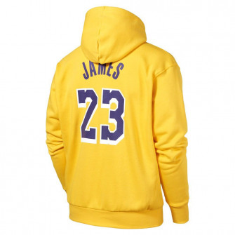 Nike NBA Lakers Lebron James Essential Hoodie ''Amarillo''
