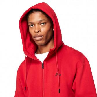 Air Jordan Essentials Full-Zip Fleece Hoodie ''Red''