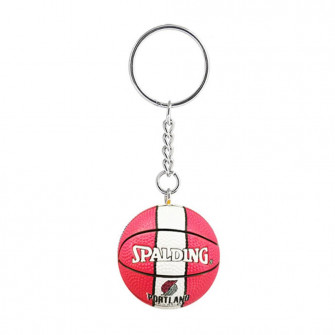 NBA Portland Trail Blazers Basketball Keychain ''Red/White''