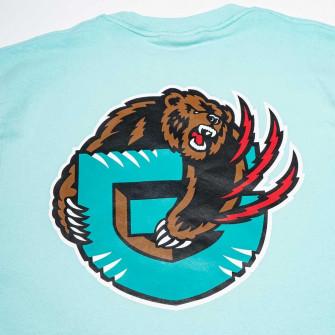 M&N NBA Vancouver Grizzlies HWC Pastel Crew Hoodie ''Teal''