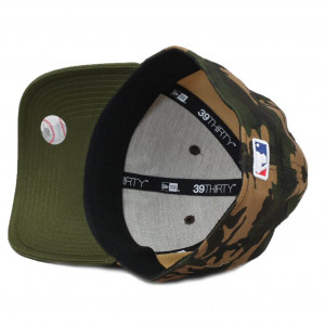 Chicago Bulls Camo Team Stretch - Snapback 39THIRTY